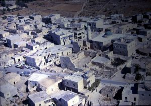 Aerial view, courtesy of Kfar Etzion field school © <i> synagogues.kinneret.ac.il </i>