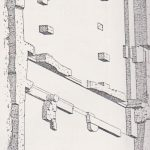 Isometric plan, Sukeinik 1932: plate 3 © <i> synagogues.kinneret.ac.il </i>