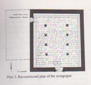 Plan Maoz 1991: 57, courtesy of Zvi Maoz © <i> synagogues.kinneret.ac.il </i>