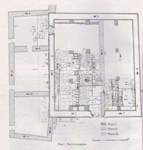 Excavation plan Maoz 1991: 52, courtesy of Zvi Maoz © <i> synagogues.kinneret.ac.il </i>