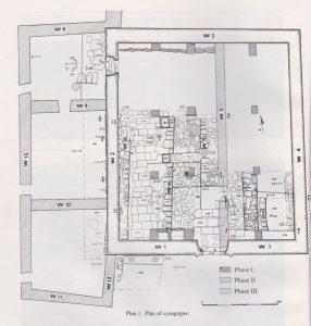 Excavation plan Maoz 1991: 52, courtesy of Zvi Maoz © <i> synagogues.kinneret.ac.il </i>