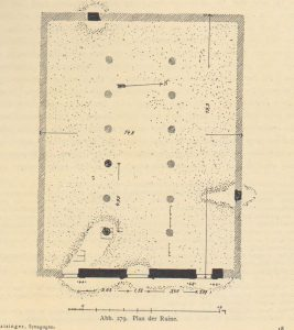 Kohl and Watzinger 1916: 137 © <i> synagogues.kinneret.ac.il </i>
