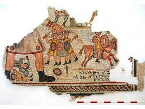 פסיפס שמשון. באדיבות עוזי ליבנר. © <i> synagogues.kinneret.ac.il </i>
