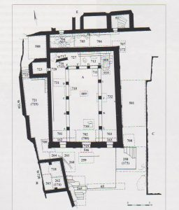 Yevin 2000: 7, courtesy of the Israel Antiquities Authority © <i> synagogues.kinneret.ac.il </i>