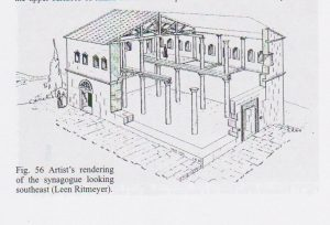 Reconstruction Maoz 2011: 69, courtesy of Zvi Maoz  © <i> synagogues.kinneret.ac.il </i>