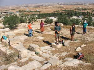 General view, courtesy of Kfar Etzion field school © <i> synagogues.kinneret.ac.il </i>