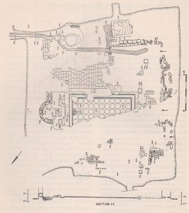 Plan, Levy 1960: 8, courtesy of the Institute of Archaeology  the Hebrew University of Jerusalem © <i> synagogues.kinneret.ac.il </i>