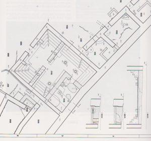 נצר 1991, 43, תוכנית 35. באדיבות החברה לחקירת ארץ ישראל. © <i> synagogues.kinneret.ac.il </i>