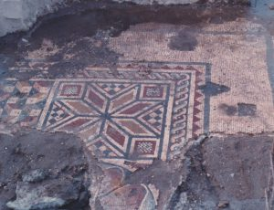 Fragment of  mosaic, courtesy of Yossi Buchman  © <i> synagogues.kinneret.ac.il </i>