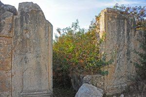 פתח מזרחי. כל הזכויות שמורות לגלעד פלאי. © <i> synagogues.kinneret.ac.il </i>