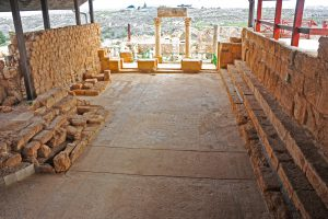 General view looking east - Gilead Peli all rights reserved © <i> synagogues.kinneret.ac.il </i>