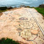 The Mosaic floor - Gilead Peli all rights reserved © <i> synagogues.kinneret.ac.il </i>