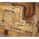 Aerial photo. Courtesy of Avraham Gracier. All rights reserved to Avraham Gracier. © <i> synagogues.kinneret.ac.il </i>