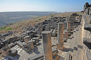 Looking west, Gilead Peli all rights reserved © <i> synagogues.kinneret.ac.il </i>