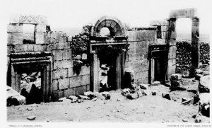Kohl and Watzinger 1916: Tafel XIII © <i> synagogues.kinneret.ac.il </i>