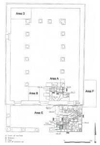 Excavation plan. Aviam 2002  © <i> synagogues.kinneret.ac.il </i>