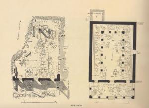 Kohl and Watzinger 1916: Tafel XII © <i> synagogues.kinneret.ac.il </i>