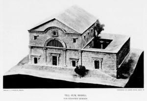 Kohl and Watzinger 1916:Tafel V © <i> synagogues.kinneret.ac.il </i>
