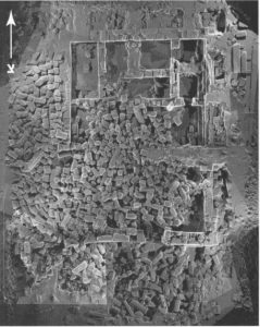 """בן דוד, גונן ודריי תשס""""ז: 111. באדיבות החברה לחקירת ארץ ישראל ועתיקותיה. © <i> synagogues.kinneret.ac.il </i>"""