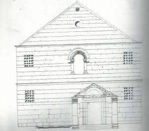 Maoz 1995: plate 85 fig. 2, courtesy of Zvi Maoz © <i> synagogues.kinneret.ac.il </i>