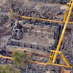 Aerial photo, courtesy of Abraham Graicer all rights reserved to Abraham Graicer  © <i> synagogues.kinneret.ac.il </i>