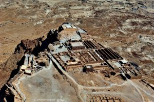 Aerial photo, Courtesy of Avraham Gracier. All rights reserved to Avraham Gracier © <i> synagogues.kinneret.ac.il </i>