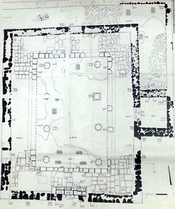 Synagogue plan phase 2. Courtesy of Yossi Buchman. © <i> synagogues.kinneret.ac.il </i>