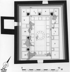 """ליבנר תש""""ע: 33. באדיבות החברה לחקירת ארץ ישראל. © <i> synagogues.kinneret.ac.il </i>"""