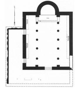 Tzaferis 1974: 111. Courtesy of the Israel Exploration Society. © <i> synagogues.kinneret.ac.il </i>