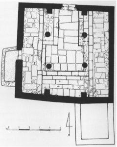 Magen, Zionit and Sirkis 1999: 29. Courtesy of the Israel Exploration Society © <i> synagogues.kinneret.ac.il </i>