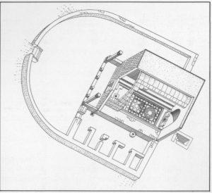 """מגן תשנ""""ג: 74. באדיבות החברה לחקירת ארץ ישראל. © <i> synagogues.kinneret.ac.il </i>"""