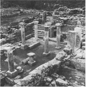 Meyers 1972: 60. Courtesy of the Israel exploration Society © <i> synagogues.kinneret.ac.il </i>