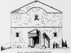 Kohl and Watzinger 1916:134 © <i> synagogues.kinneret.ac.il </i>