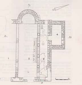 Phase 1 Zori 1967: 150, courtesy of Israel Exploration Society © <i> synagogues.kinneret.ac.il </i>