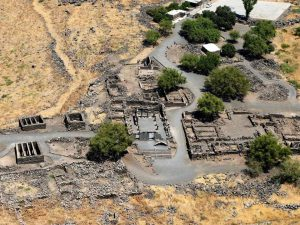 Aerial photo, Courtesy of Avraham Gracier. All rights reserved to Avraham Gracier. © <i> synagogues.kinneret.ac.il </i>
