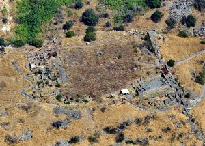 Aerial photo, courtesy of Abraham Graicer all rights reserved for Abraham Graicer © <i> synagogues.kinneret.ac.il </i>