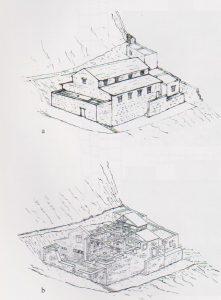 שחזור. יבור 2010, 50. באדיבות רשות העתיקות. © <i> synagogues.kinneret.ac.il </i>