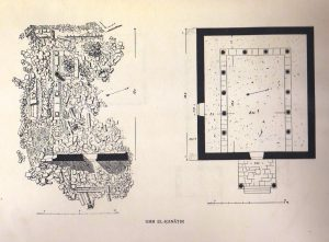 Field sketch and plan Kohl and Watzinger 1916 tafel xviii © <i> synagogues.kinneret.ac.il </i>