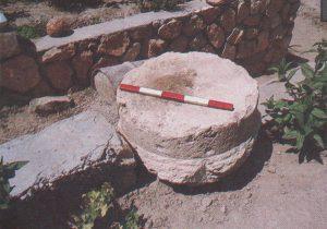 Base Ilan 1991: 219, courtesy of Almoga Ilan © <i> synagogues.kinneret.ac.il </i>