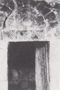 Lintel with Menorha Ilan: 307 courtesy of Almoga Ilan © <i> synagogues.kinneret.ac.il </i>