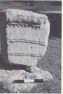 Architectural fragment Ilan 1991: 225, courtesy of Almoga Ilan © <i> synagogues.kinneret.ac.il </i>
