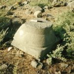 Doric capital IAA survey (see link below) map 18 site 114 fig. 4 , courtesy of Yossi Stephanski and the Israel Antiquties Authority © <i> synagogues.kinneret.ac.il </i>