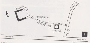 Schematic Plan. Ilan 1991: 33, Courtesy of Almoga Ilan. © <i> synagogues.kinneret.ac.il </i>