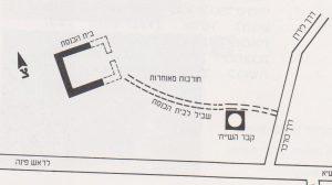 תוכנית. אילן 1991, עמ' 33. באדיבות אלמוגה אילן. © <i> synagogues.kinneret.ac.il </i>