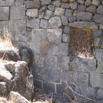 Ashlar wall of the Synagogue, courtesy of Eran Meir © <i> synagogues.kinneret.ac.il </i>