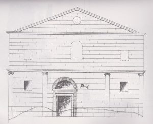 Reconstruction Maoz 1995 plate 46, Courtesy of Zvi Maoz © <i> synagogues.kinneret.ac.il </i>