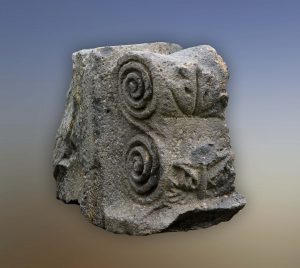 photo of Ofer Nov, courtesy of the Golan Archaeological Museum © <i> synagogues.kinneret.ac.il </i>