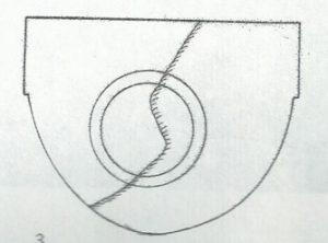 Maoz 1995, Plate 51 fig. 3, Courtesy of Zvi Maoz © <i> synagogues.kinneret.ac.il </i>