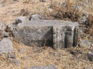 Door post, courtesy of Eran Meir © <i> synagogues.kinneret.ac.il </i>