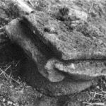 Ionic capital in En Hayadid , IAA survey (see link below) map 46 site 61 fig. 2 courtesy of Zvi Gal and the Israel Antiquities Authority © <i> synagogues.kinneret.ac.il </i>